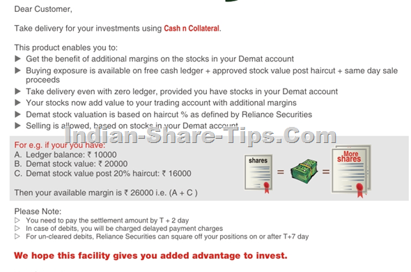 Hot Un Stock >> Buy More Shares Against Your Demat Holdings Indian Stock