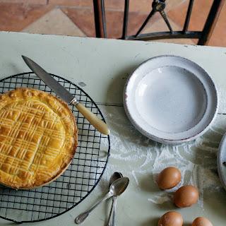 Basque Chicken & Cake.