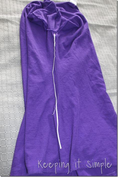 gathered sides t-shirt refashion (5)
