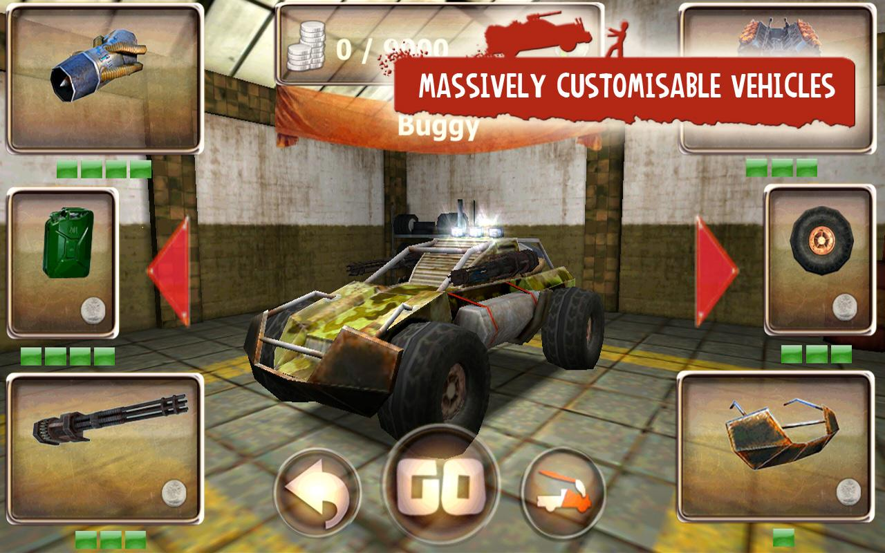 Zombie Derby - screenshot