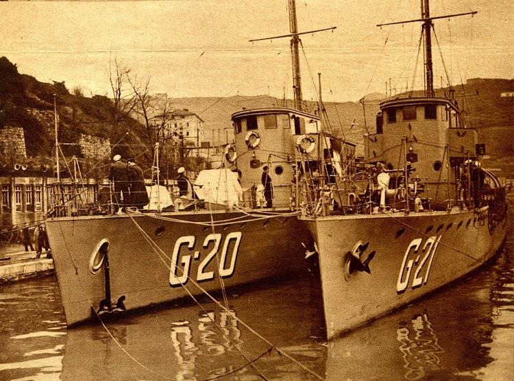 El G-20 y el G-21 terminados y pendientes de entrega. Foto Gil del Espinar.jpg