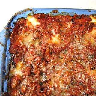 Ina Garten's Turkey Lasagna (adapted).