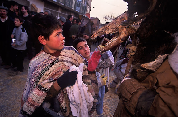 Carnaval de Navalosa, Ávila 2001.02.02