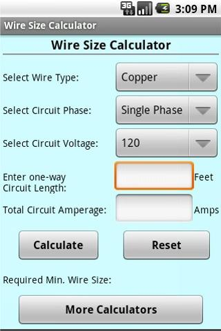 Wire size calculator android apps on google play video size wire size calculator android apps on google play video size calculator keyboard keysfo