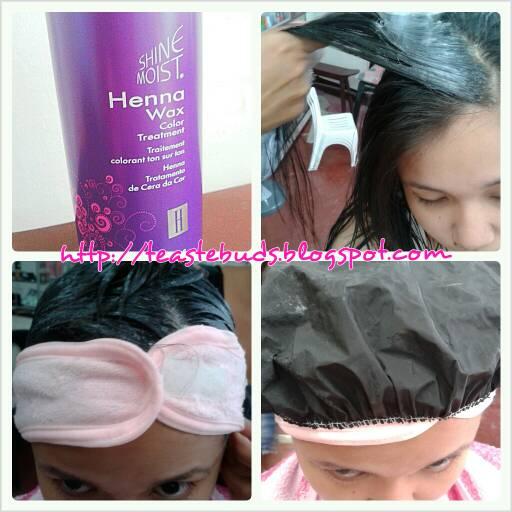 Teaste Buds 11 Shine Moist Henna Wax Color Treatment
