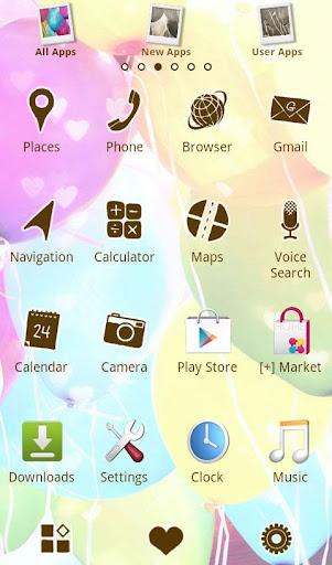 Cute Theme-Balloons- 1.0 Windows u7528 2