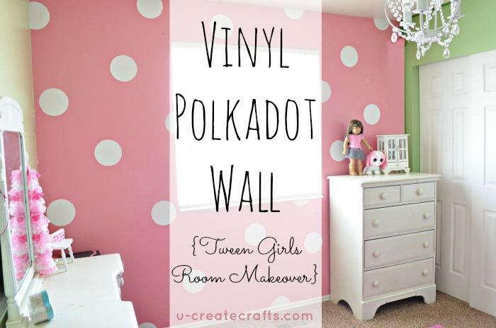 Vinyl Polkadot Wall by Ucreate