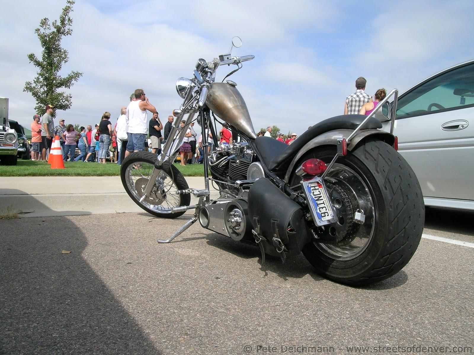 Streets Of Denver Harley Davidson Shovelhead Rat Bike