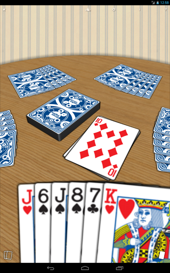 Crazy Eights free card game- screenshot