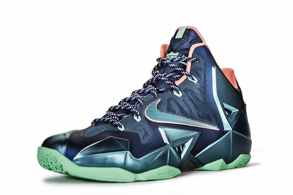 e7ad19b7d938 Nike LeBron 11 8220Akron vs Miami8221 Confirmation amp Official Photos ...