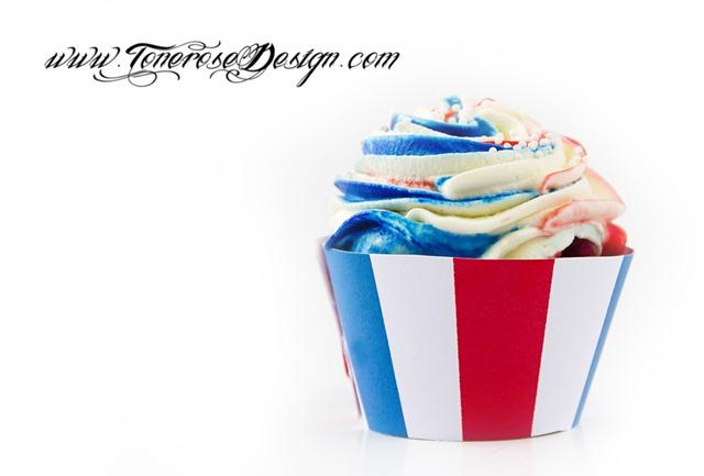 17 mai cupcake diy