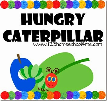 hungry caterpillar worksheets for kids