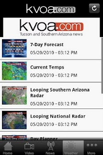 KVOA - screenshot thumbnail