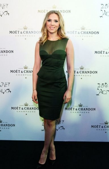 Scarlett Johansson -  Moet Chandon party in Moscow