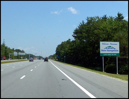 6 - Entering New Hampshire