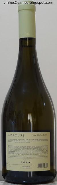 vinho branco seco aracuri