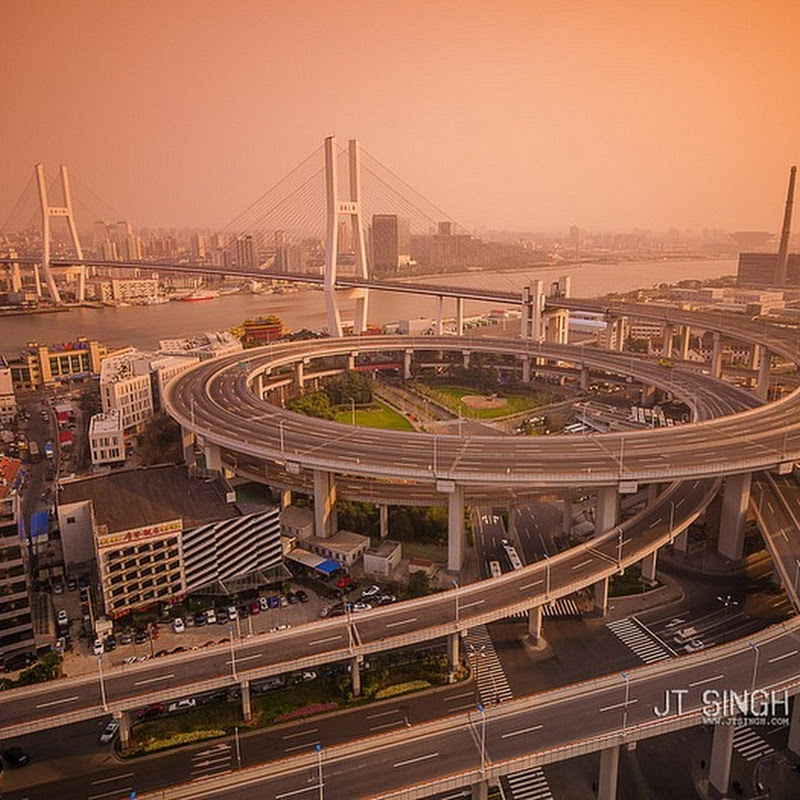 Nanpu Bridge in China