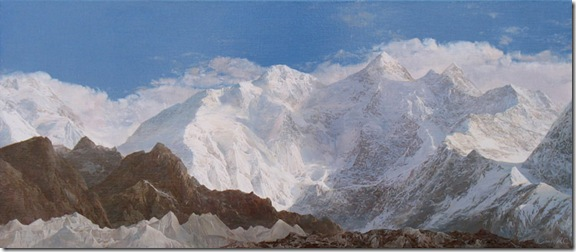Mountain landscape Gasherbrum