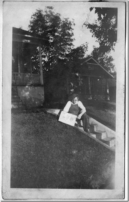 Pg 17 - Carl Albert Gilberg in Salt Lake City, Utah Photoshopped Black and White Cropped Levels Changed
