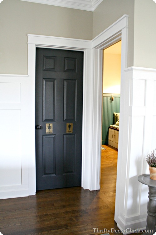 thick craftsman door trim