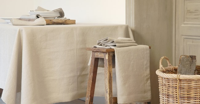 Libeco Linen table cloth Flanders
