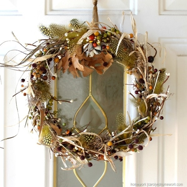 Stash Buster Fall Wreath via homework (9)