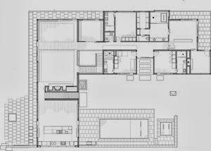 plano-Casa-minimalista-lineal-Studio-B-Architects-1