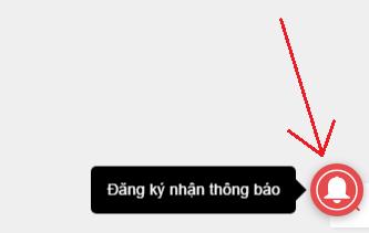 Dang ky nhan thong bao Blogspot