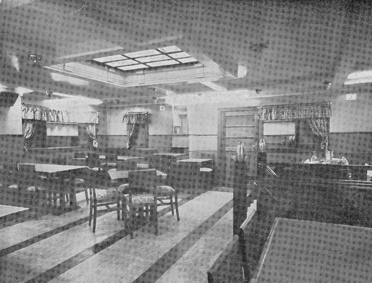 DOMINE. Comedor de tercera clase. Revista de Ingenieria Naval. Julio 1936.jpg