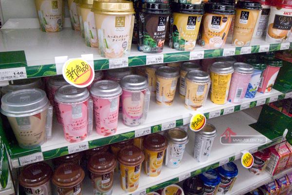 日本輕井澤超商飲料區