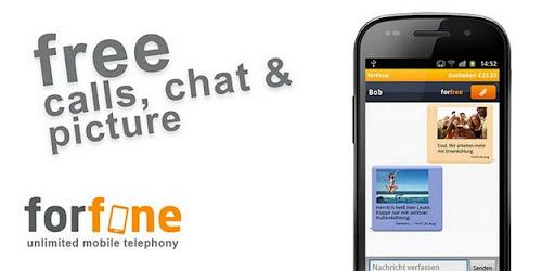 Llamar y envíar SMS gratis con Forfone