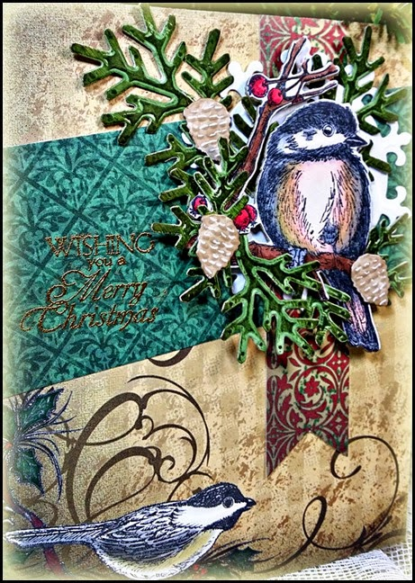 Our Daily Bread designs, Christmas Paper Collection