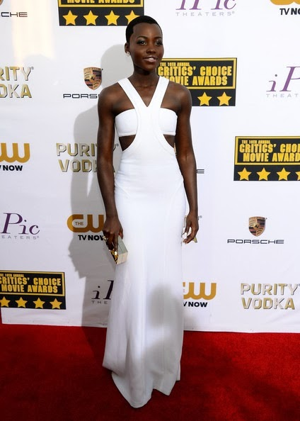 Lupita Nyong'o attends the 19th Annual Critics' Choice Movie Awards