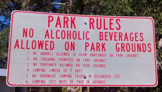 Shell Mound Campground Rules