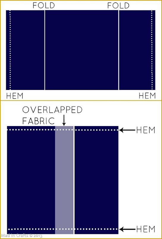 Envelope Pillow Steps