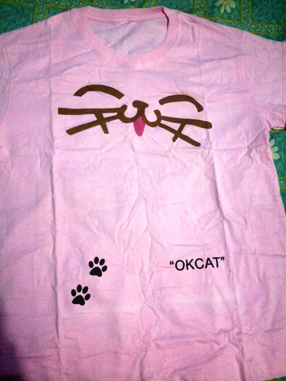 Ini design khusus HOTTEST specially oktizen. ^^ kaos repkika ok.cat ini cuma