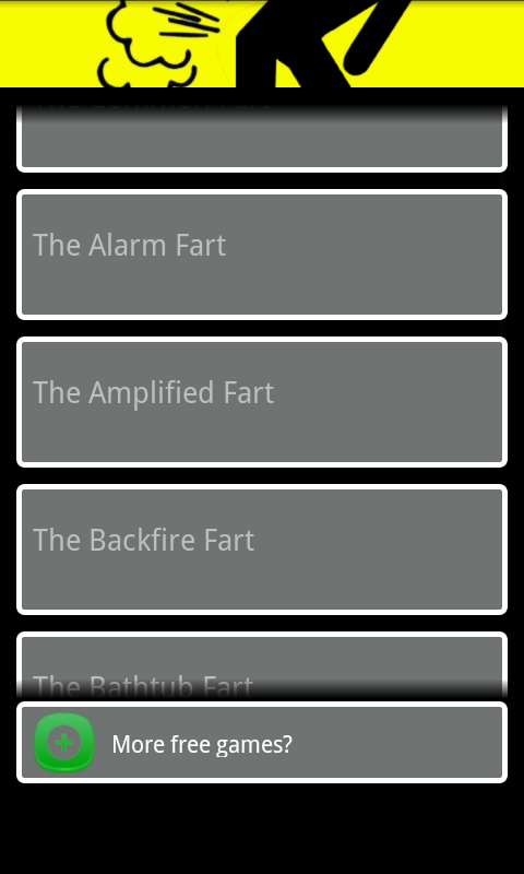 Fart simulator free - screenshot