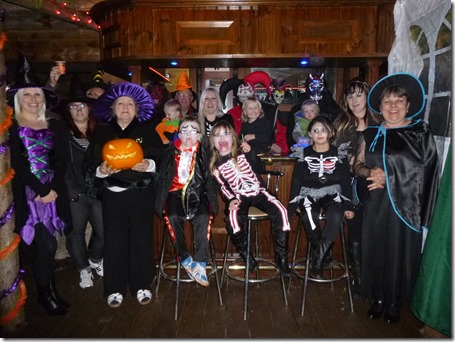 Halloween 2012 -  Marsden family and friends
