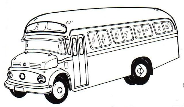 Dibujos Autobus Del Colegio