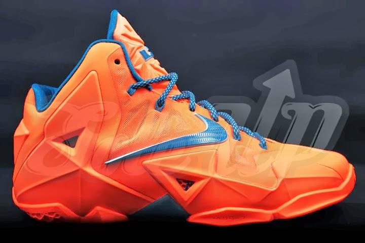 super popular 9e4ba 3a88d ... HWCesque Nike LeBron 11 is in Fact 8220Miami vs Akron8221 ...