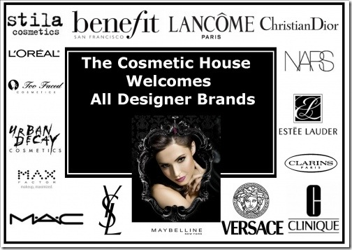 Designer Cosmetics At Discounted Rates @ The Cosmetic House