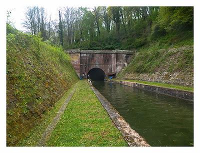 Radtour von Saarbrücken nach Straßburg: Tunnelausfahrt bei Arzviller