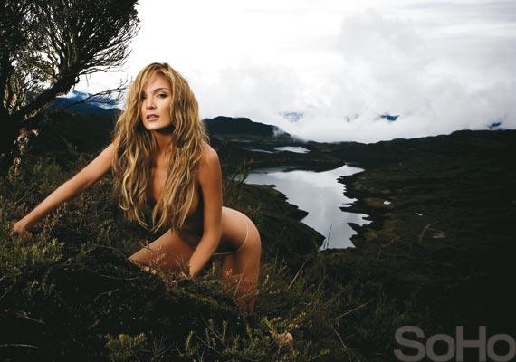 Johana Uribe Velez Desnuda En La Edición 86 De La Revista SoHo Foto 1