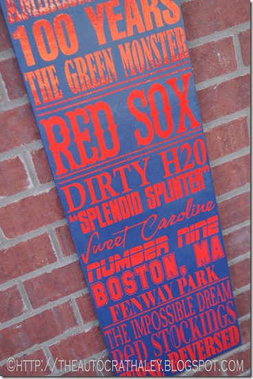 SUBWAY ART RED SOX (3)