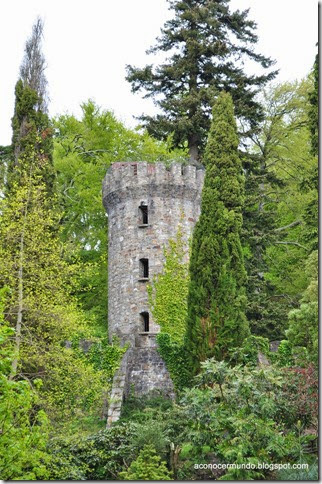 Powerscourt. Jardines. Pepperpot Tower - DSC_0039