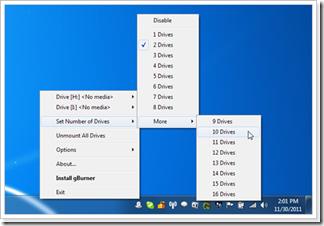 gBurner Virtual Drive
