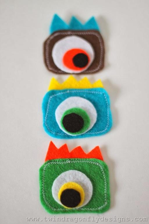 Monster Embroidery Hoop (15)