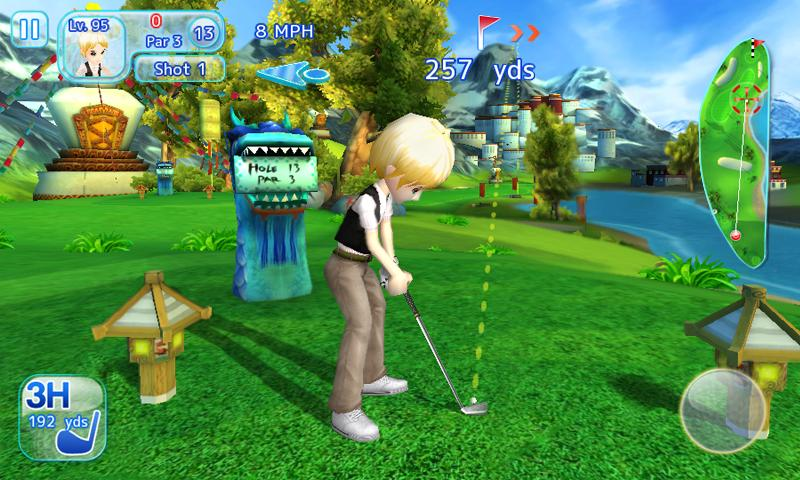 game golf hd android