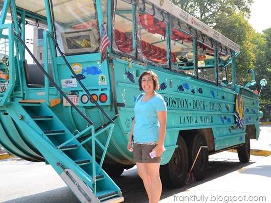 Victoria and an original WWII Duck Boat