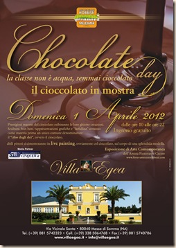 Locandina Chocolate Day